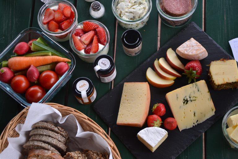 Das leckere Picknick der Jithofer Käsereih
