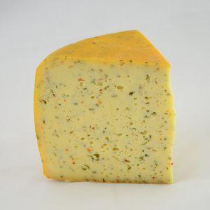 Jithofer Käse mit Paprika-Bärlauch