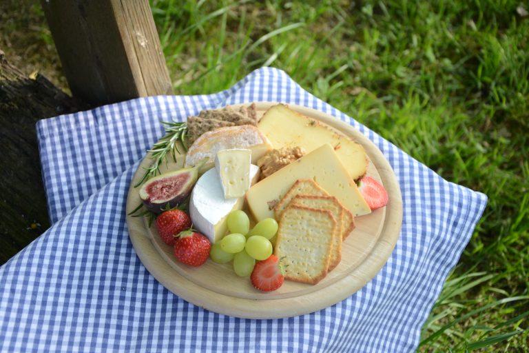 Eine Auswahl der leckeren Käsesorten der Jithofer Käserei