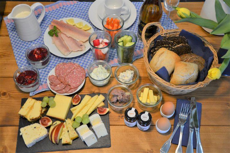 Das de luxe Picknick der Jithofer Käserei