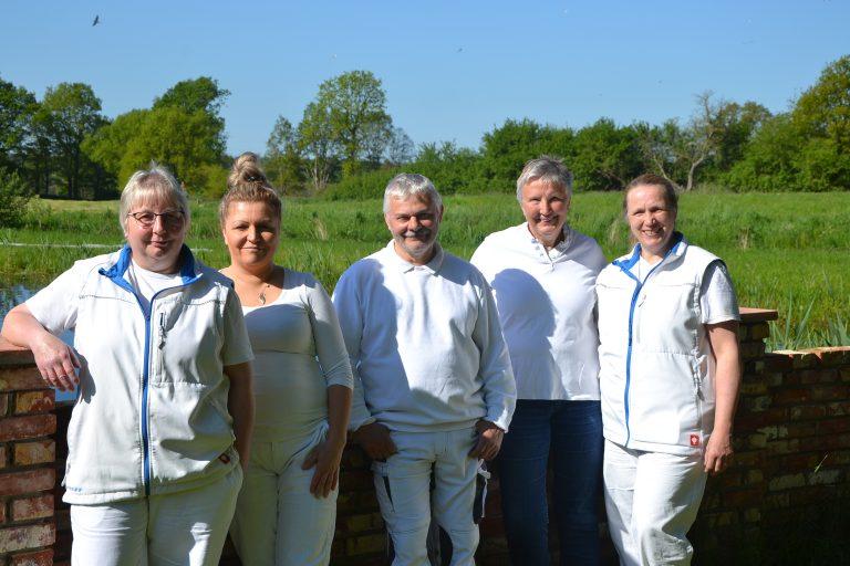 Produktions-Team der Jithofer Käserei