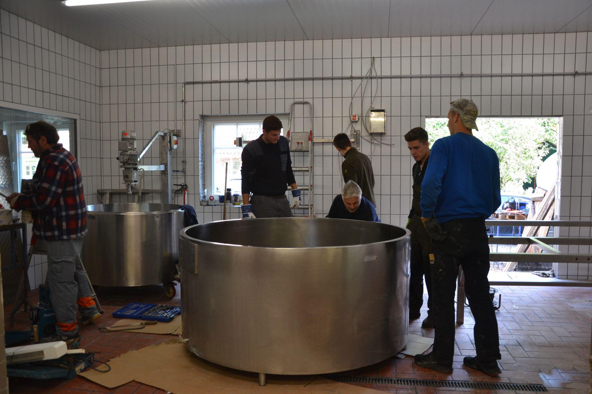 Umbau Käserei und Laden